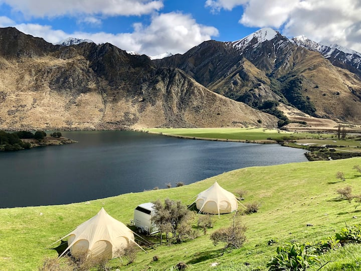 Two Glamping tents in total privacy. Views!!!