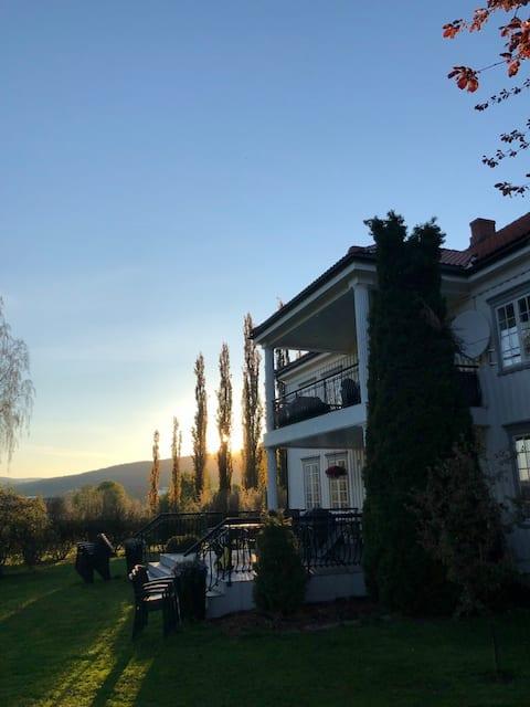 Idyllisk gårdsferie på Bærgården