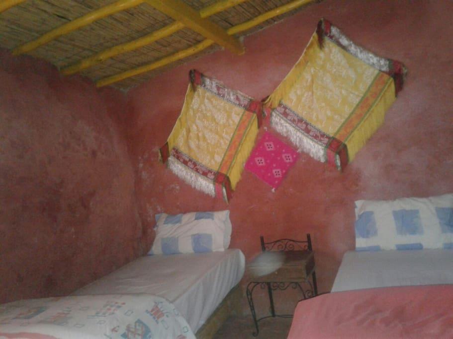 une des chambres typique
