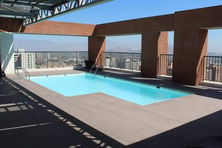 Fantastic Flat in the Heat of Santiago de Chile - 圣地亚哥 - 公寓