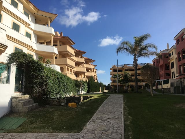 Apartamento 1ª Línea de playa, Atlanterra