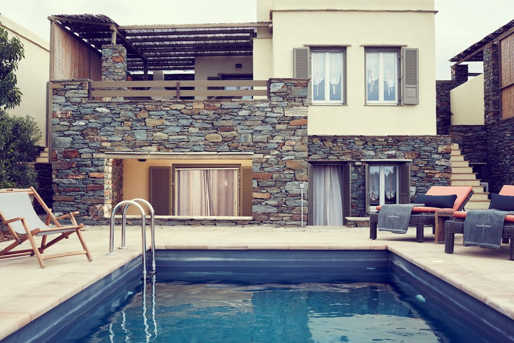 Swimming Pool  | Diles & Rinies Estate | Villas in Tinos