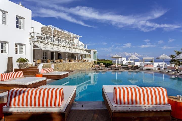 Kalo Livadi Beach   Premium Sea View Room