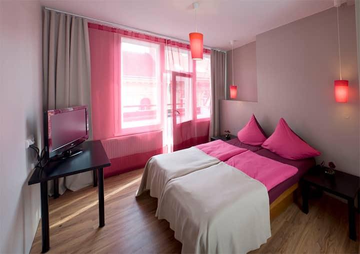 Hotelový pokoj v srdci Prahy 1 s vlastní kuchyňkou