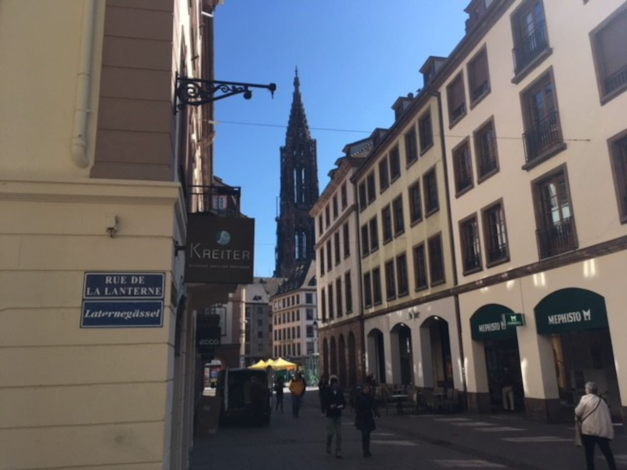 The apartment is located in the heart of the Historical Center of Strasbourg. Perfect location!!!