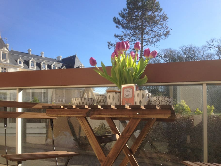 appartment 2 bedrooms terrasse parking tennis wifi. Black Bedroom Furniture Sets. Home Design Ideas