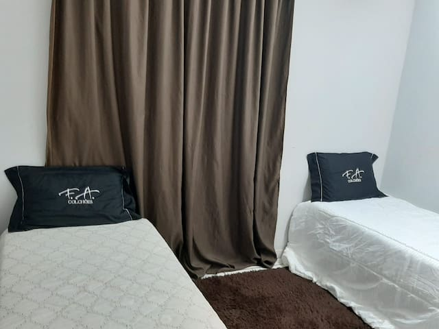 Apartamento no centro de Sinop para até 5 Pessoas
