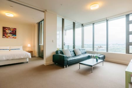 City View Modern Apt @ Olympic Park - Daire