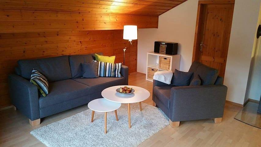 Gemütliches Nest mit Waldblick :-) - Höchst im Odenwald - Hassenroth - Apartamento