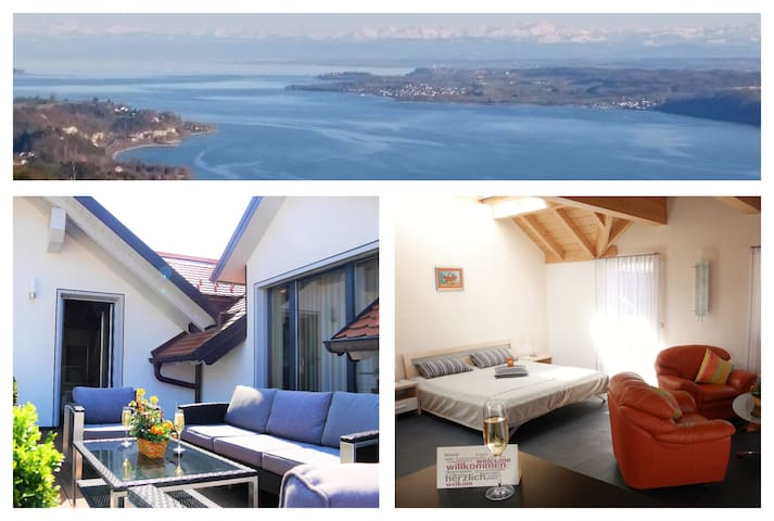 Beautiful Appartment at the Lake of Constance - Stockach - Leilighet