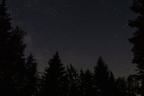 Dormir à la belle étoile (Petit-déjeuner inclus)
