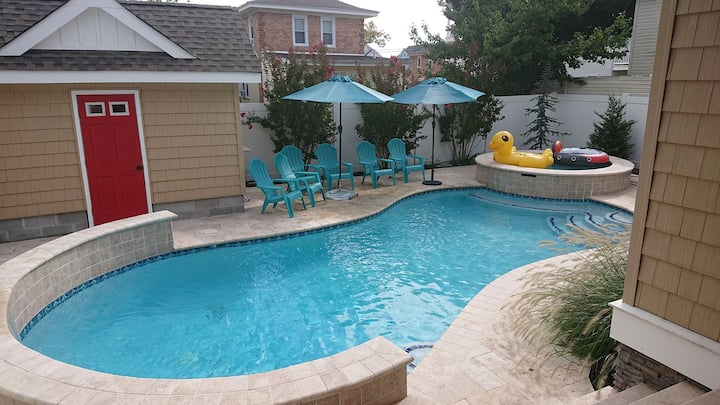 Mike's pool house
