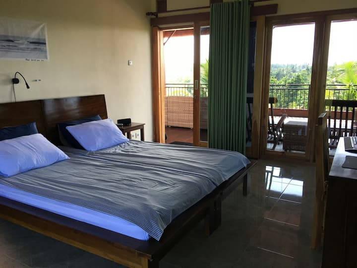 Double room with ocean view @pinkbarrelbali