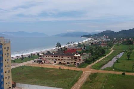 Apartamento em Massaguaçu, com vista para o mar