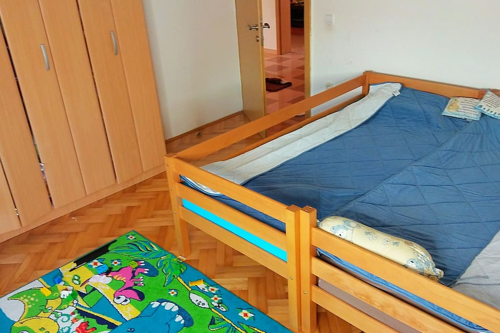 2 beds room, specially addapted for kids