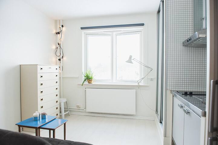 FRESH STUDIO WITH VIEW AND GREAT LOCATION - Oslo - Apartment