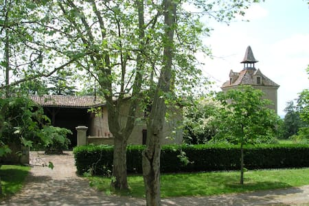 Manau, Luxury House & Gardens in South West France - Beaumont-de-Lomagne - Dům