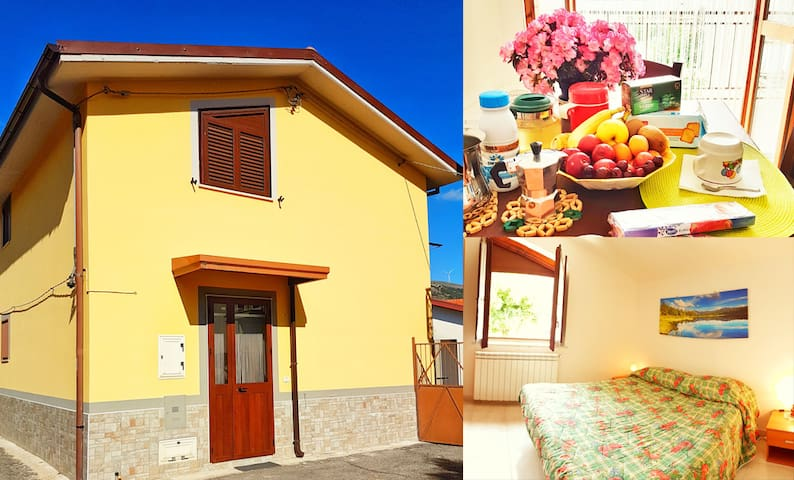 Holiday home in the center of San Gregorio Magno