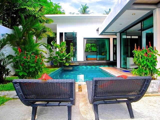 Beautiful 2 bedrooms pool villa in Rawai