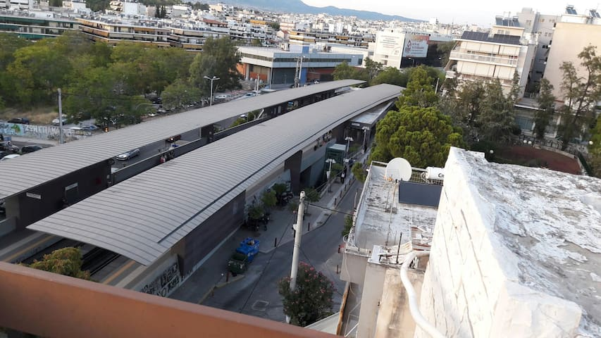 Athens Metro station perissos