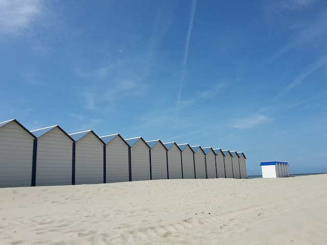 Boulogne sur mer face à la plage - Boulogne-sur-Mer - Wohnung