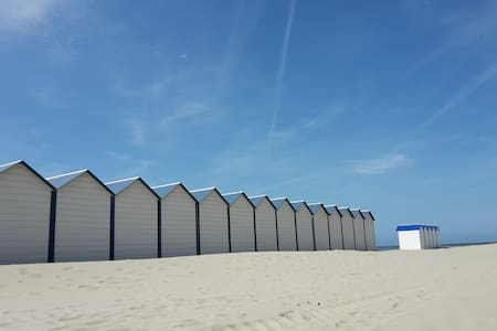 Boulogne sur mer face à la plage/ Nausicaa à 200m