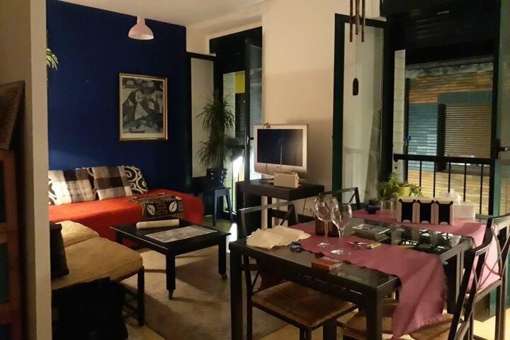 Cimadevilla: Apartamento independiente para 2+2