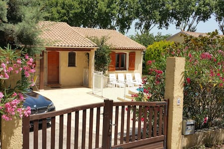 Secluded detached villa with private pool - Roujan