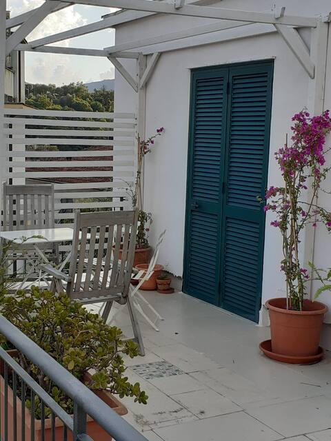 laura villa sea view terrace