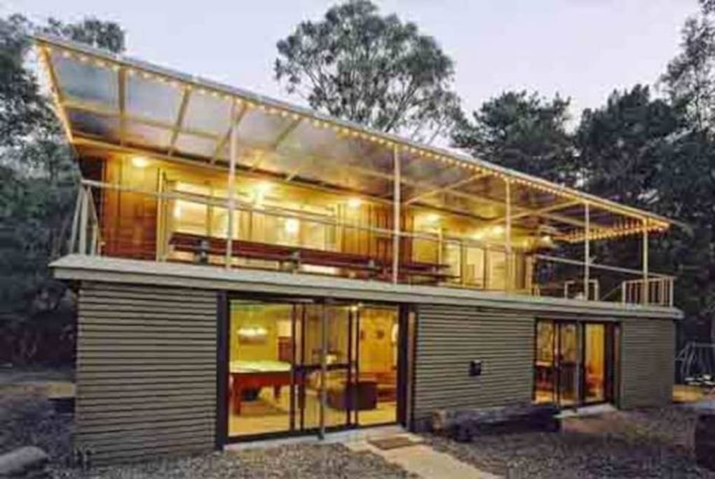 Spacious & rustic Rudawe Lodge