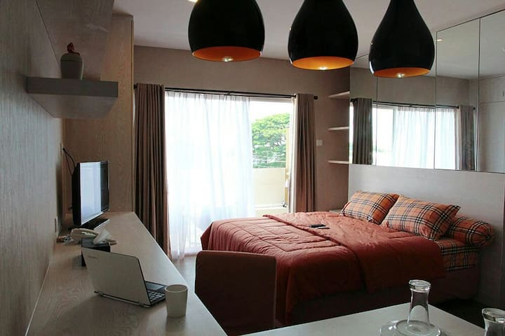 Comfort Apartment with cozy kitchen - Kecamatan Depok - Appartement