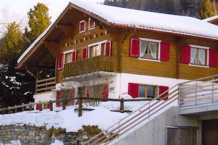 Chalet 8-10 personnes aux pieds des pistes de ski - Chalais - Chalet