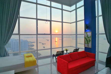 180° Sunrise Seaview Seaside Duplex 无敌日出全海景海边套房 18