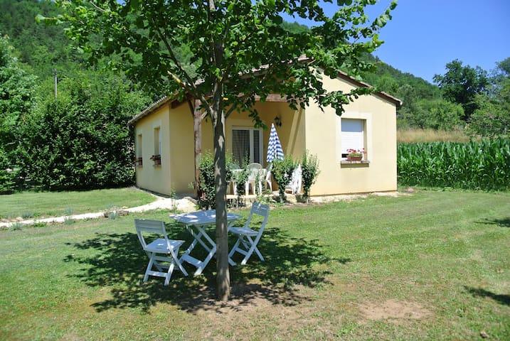 Gîte de la Rive à CASTELS, Dordogne, Périgord Noir - Castels - Hus