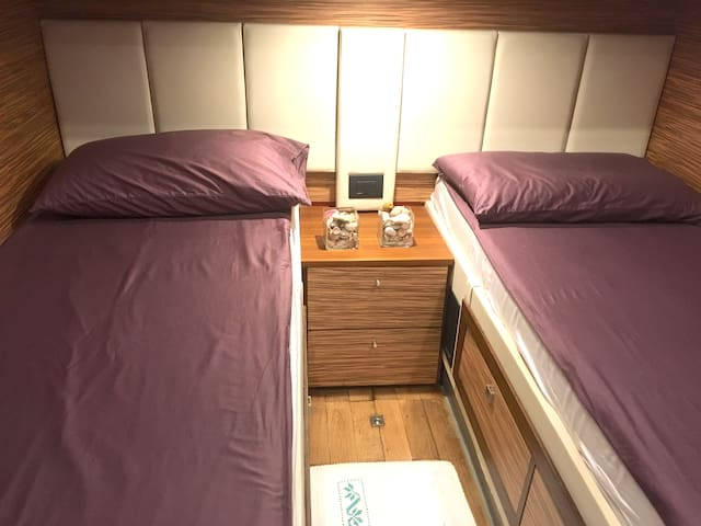 Boat&bed BLUE III Private Twin-bed room 1 - Tortolì - Boot