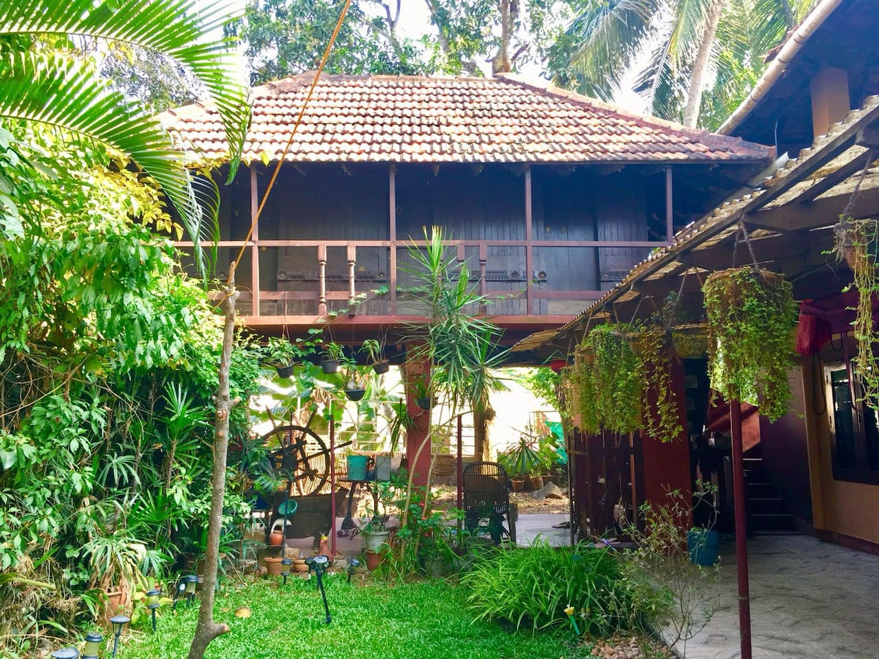 140 year old, wooden Kerala cabins