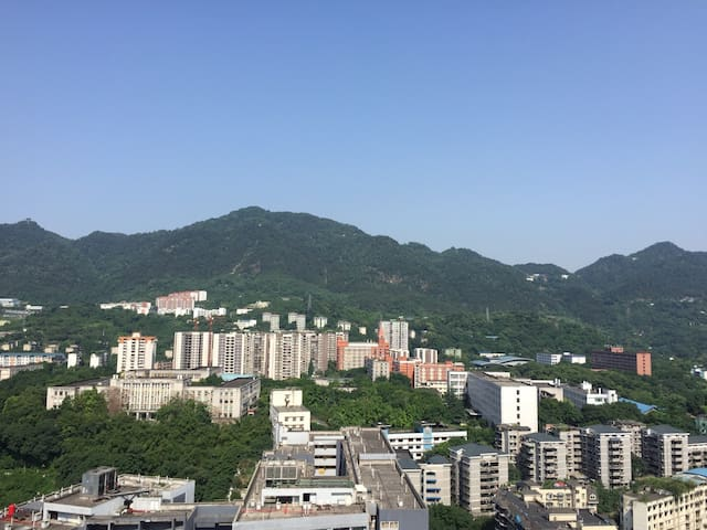 重庆三峡广场 磁器口古镇  红色景区白公馆 (重庆大学 四川外语大学 附近) 景区阳光大床房 - Chongqing