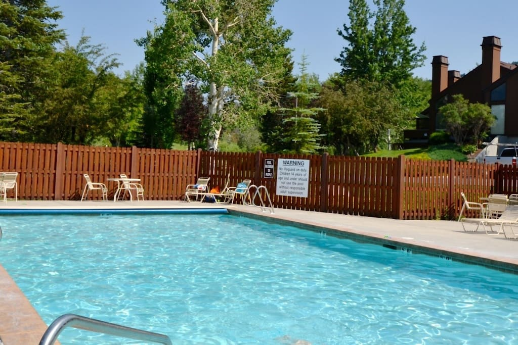 Large Heated Clubhouse Pool