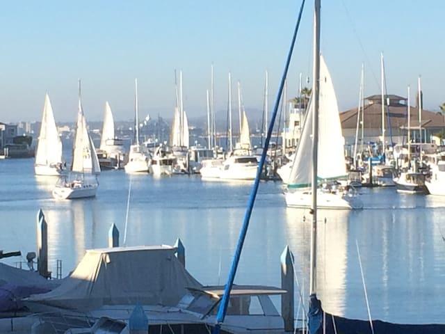 Waterfront Romantic Retreat in Coronado, CA