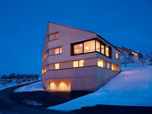 Ferienwohnung in modernem Holzhaus^ - Sulzberg