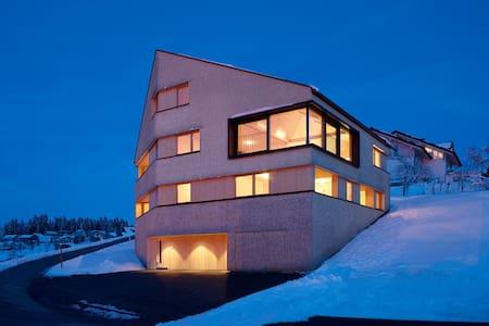 Ferienwohnung in modernem Holzhaus^ - Sulzberg - Appartement