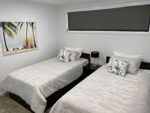 King Single Beds - Bedroom 4
