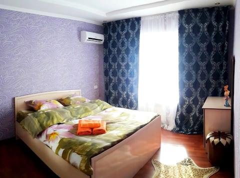 シュムケント中心部に位置するアパートメント- 1