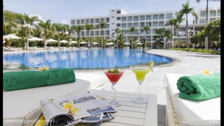 1 BR Apartment in Diamond Bay Condotel Resort