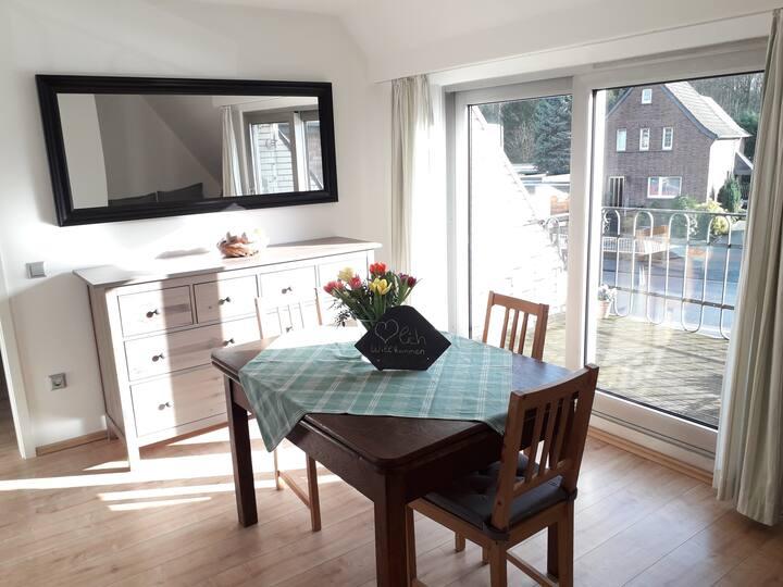 Gemütliche 2 Zimmer Wohnung Krefeld-Forstwald