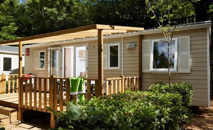 Camping Le Bontemps**** - Mobil home 6 personnes