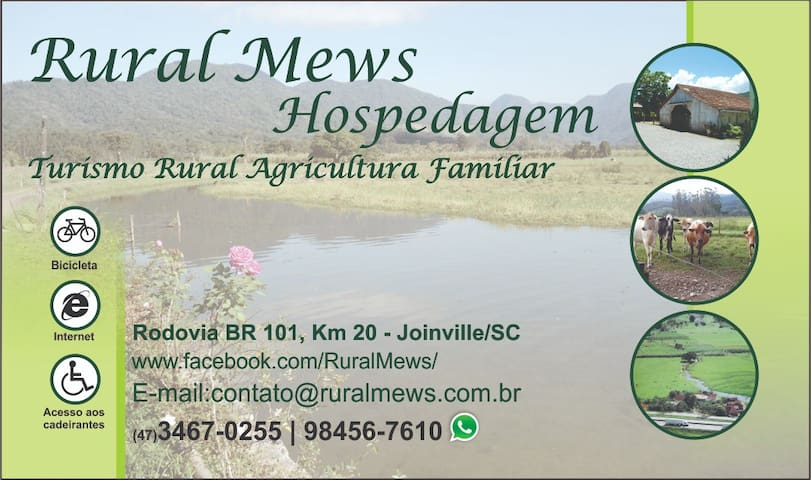 Hospedagem Rural, Agricultura Familiar.