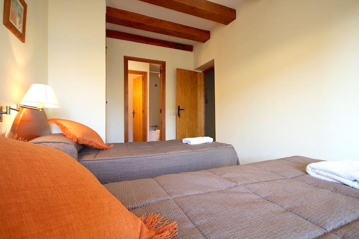 Centre del Montsec - 206 - Twin Room