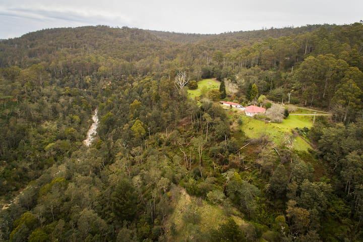 Trail View house, Blue Derby views near bike trail