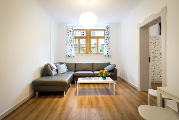 beautiful apartment in old villa, WIFI included